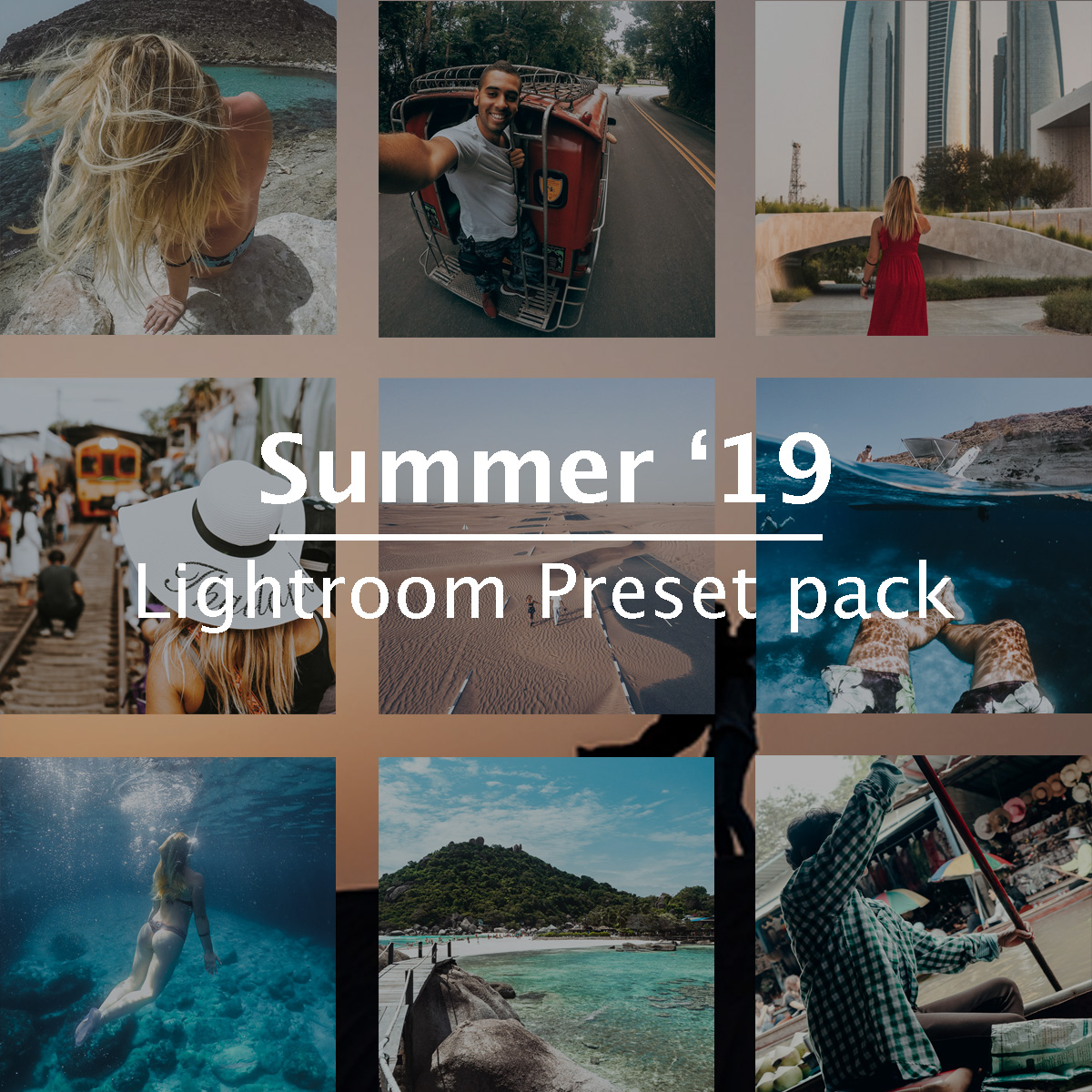 Summer '19 (Presets Lightroom)