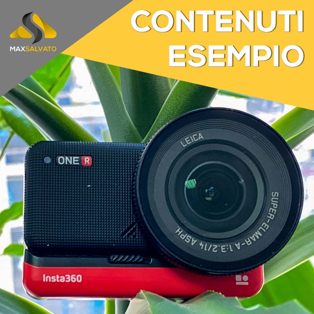 Insta360 One R – Contenuti Esempio